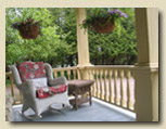 Photo of veranda at Haliburton B&B